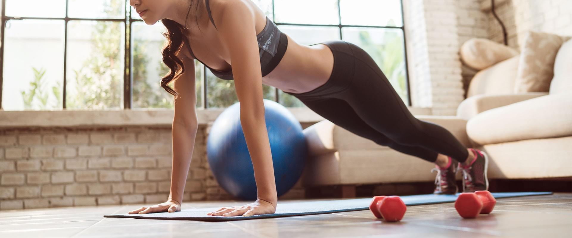 Acquista online tutta l'attrezzatura per fare sport in casa