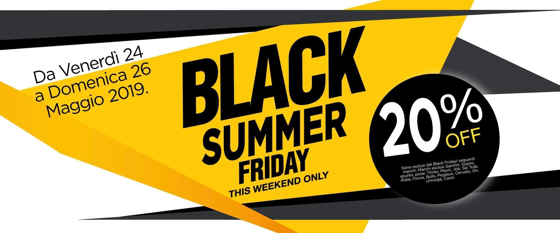 Black Summer Friday