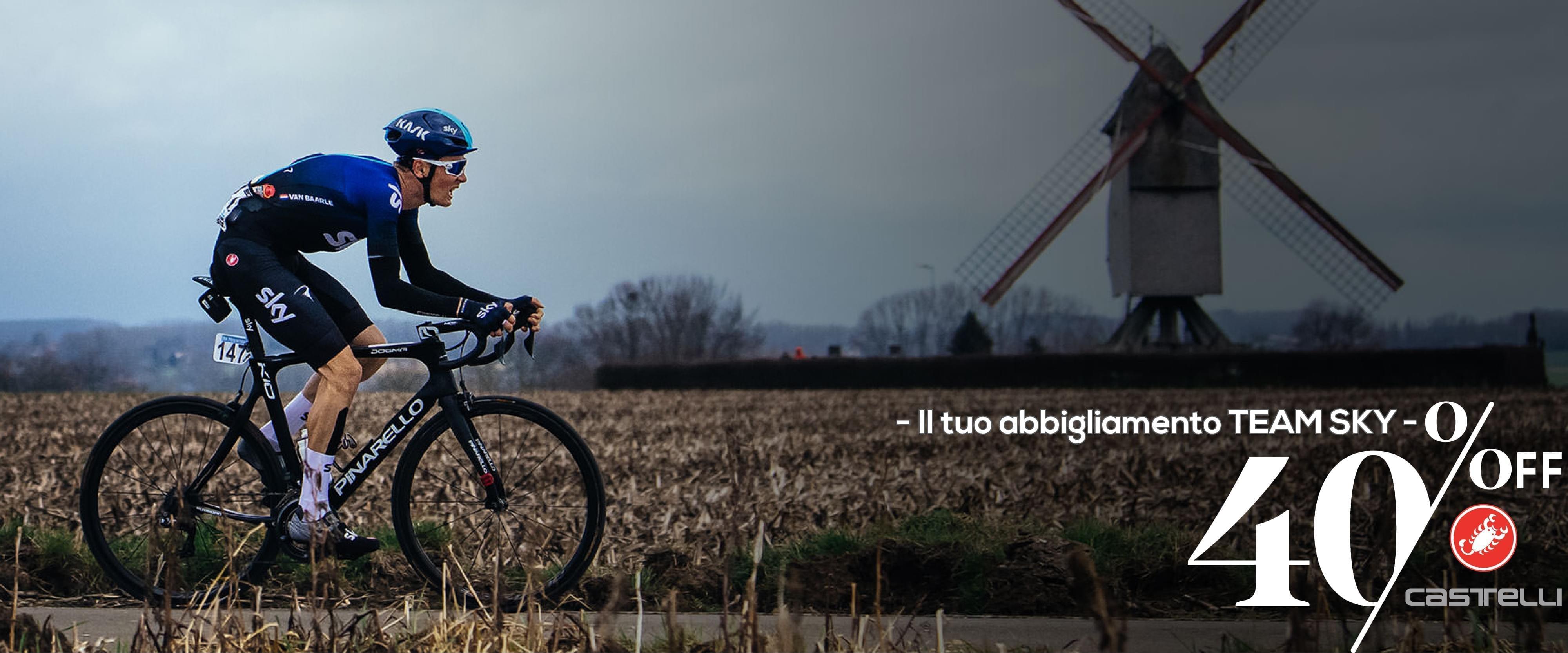 Offerte Abbigliamento Ciclismo Sky