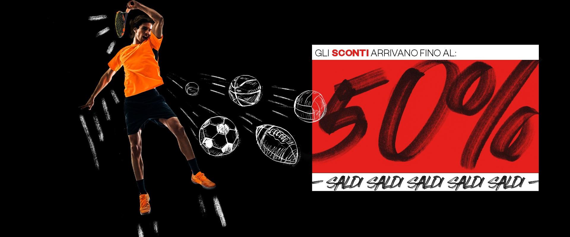 Saldi Sportland   Fino al 50% di Sconto